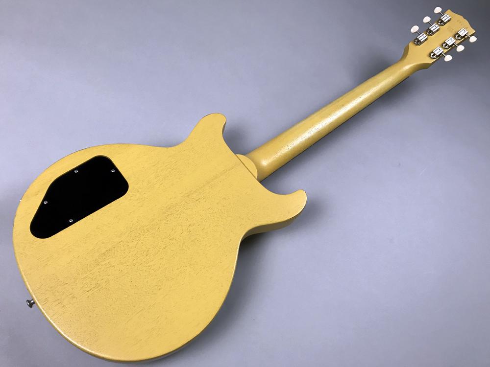 Les Paul Faded Double Cutawayのボディバック-アップ画像