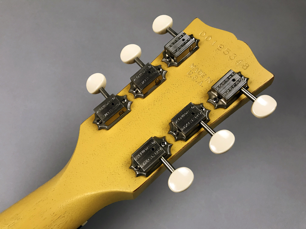 Les Paul Faded Double Cutawayのヘッド裏-アップ画像
