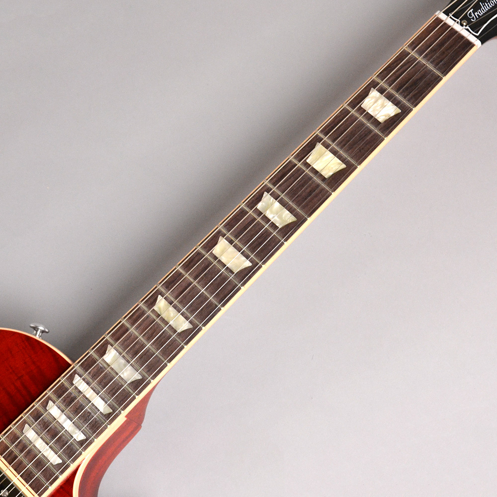 Les Paul Traditional 2019 Heritage Cherry Sunburstの指板画像