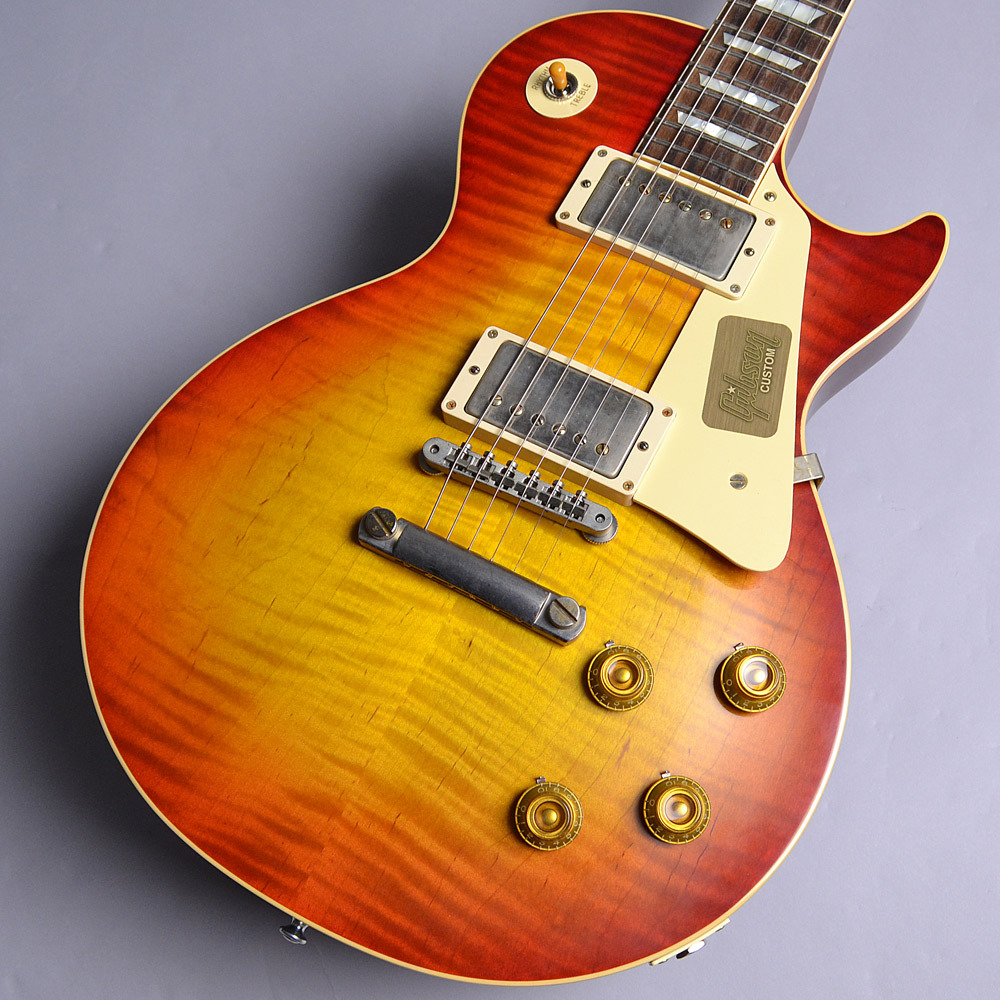 2017 Limited Run 1958 Les Paul Model Hard Rock Maple VOSのボディバック-アップ画像