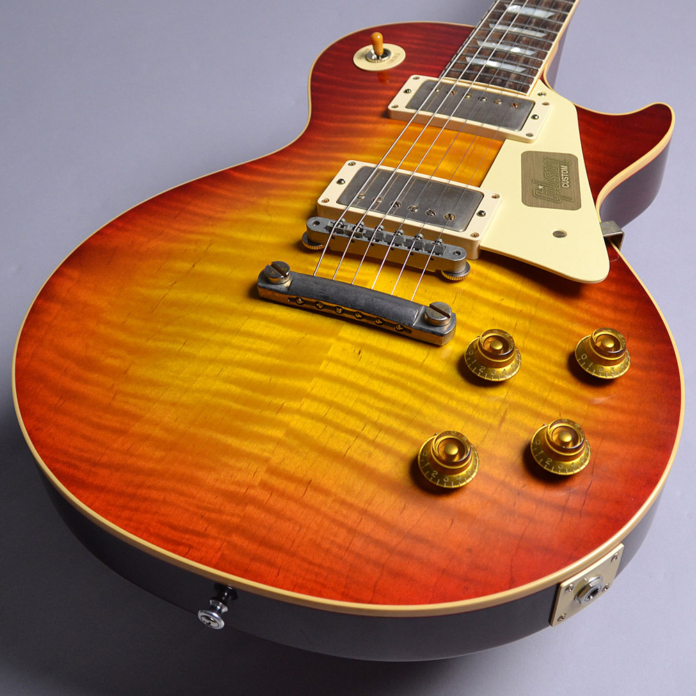 2017 Limited Run 1958 Les Paul Model Hard Rock Maple VOSのヘッド画像