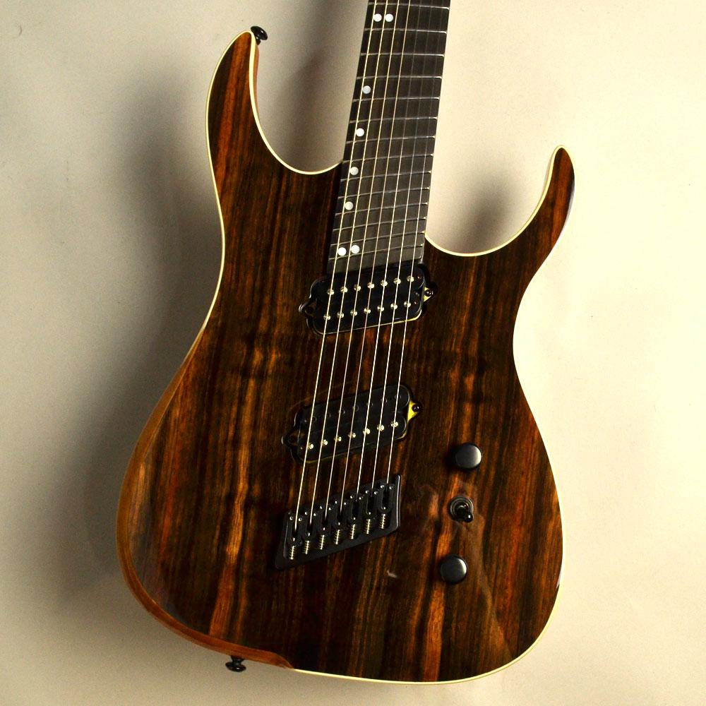 Ormsby Guitars HypeGTR MULTISCALE Macassar Ebon... 写真画像