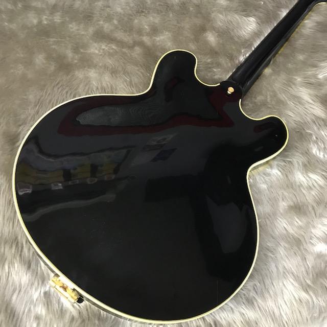 ES-355 Ebony Bigsby VOSのボディバック-アップ画像