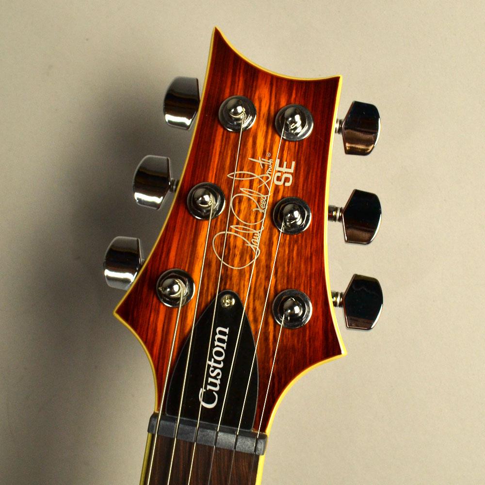 SE Custom 24 Zebrawoodのヘッド画像