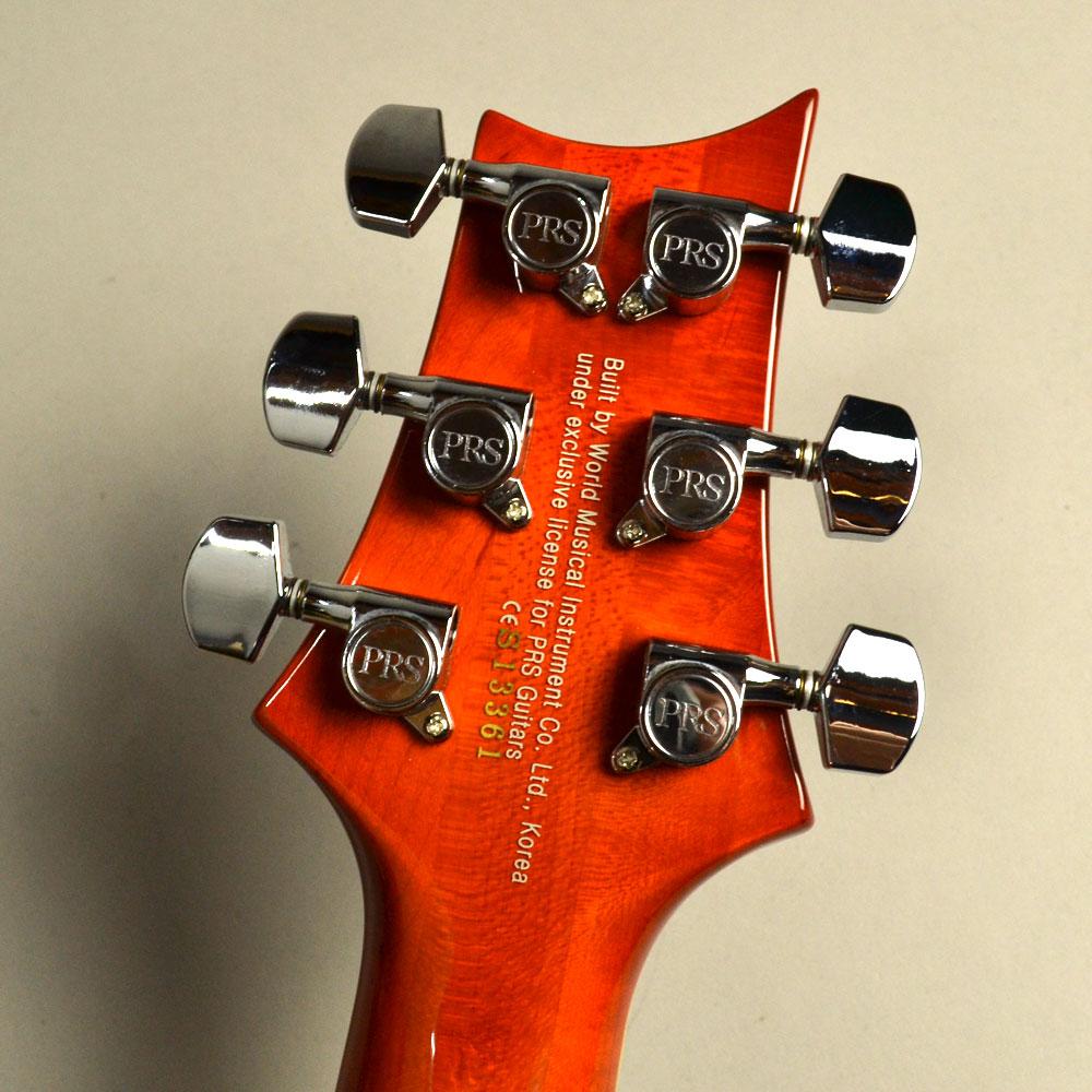SE Custom 24 Zebrawoodの指板画像