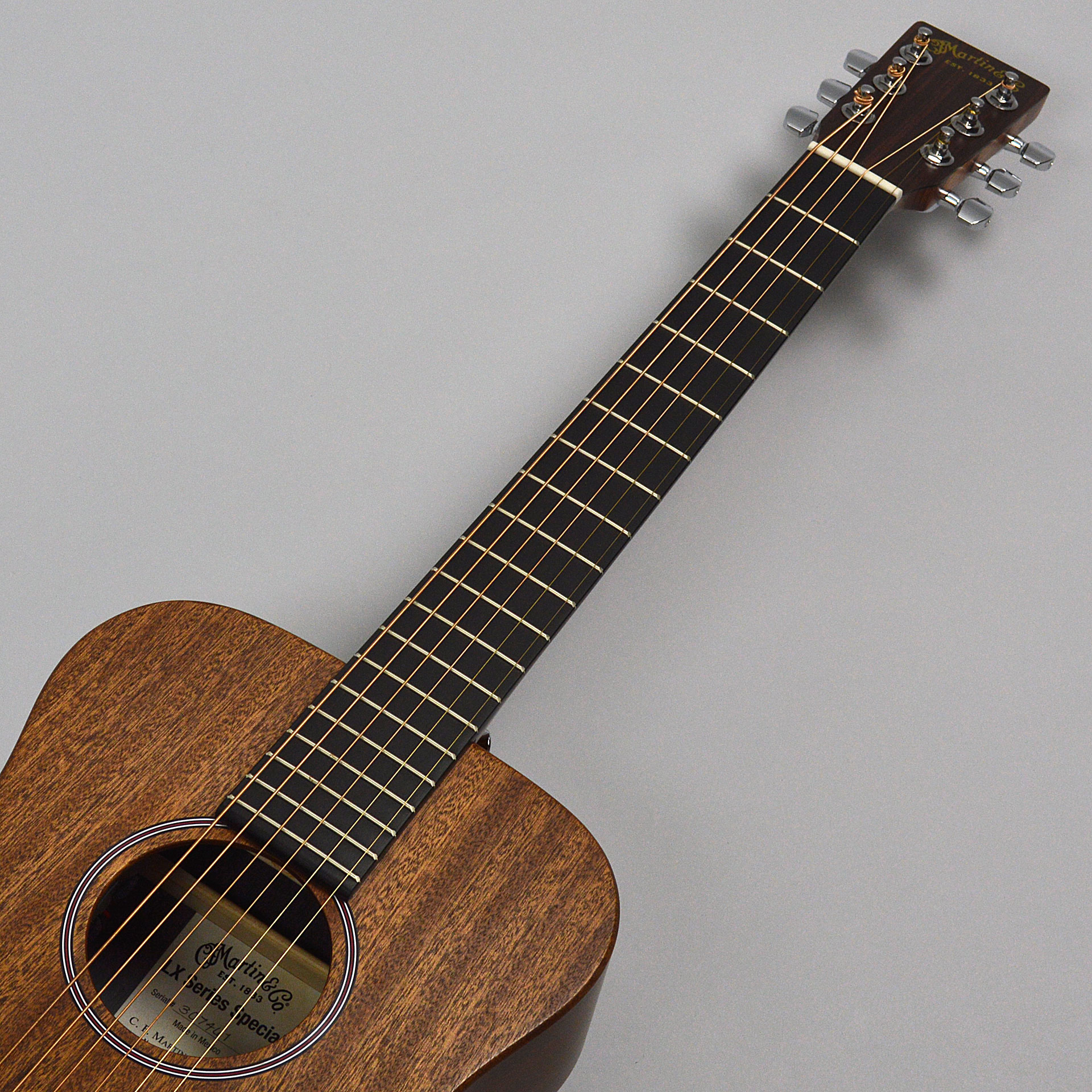 Little Martin LX Custom S/Eの指板画像