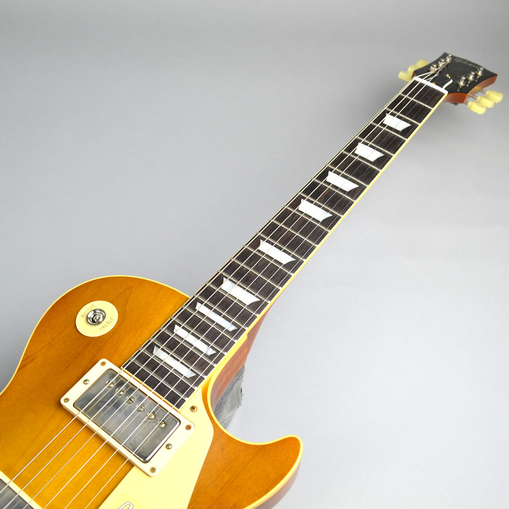 Limited Run 1958 Les Paul Model Hard Rock Maple VOS Dirty Lemonのボディバック-アップ画像