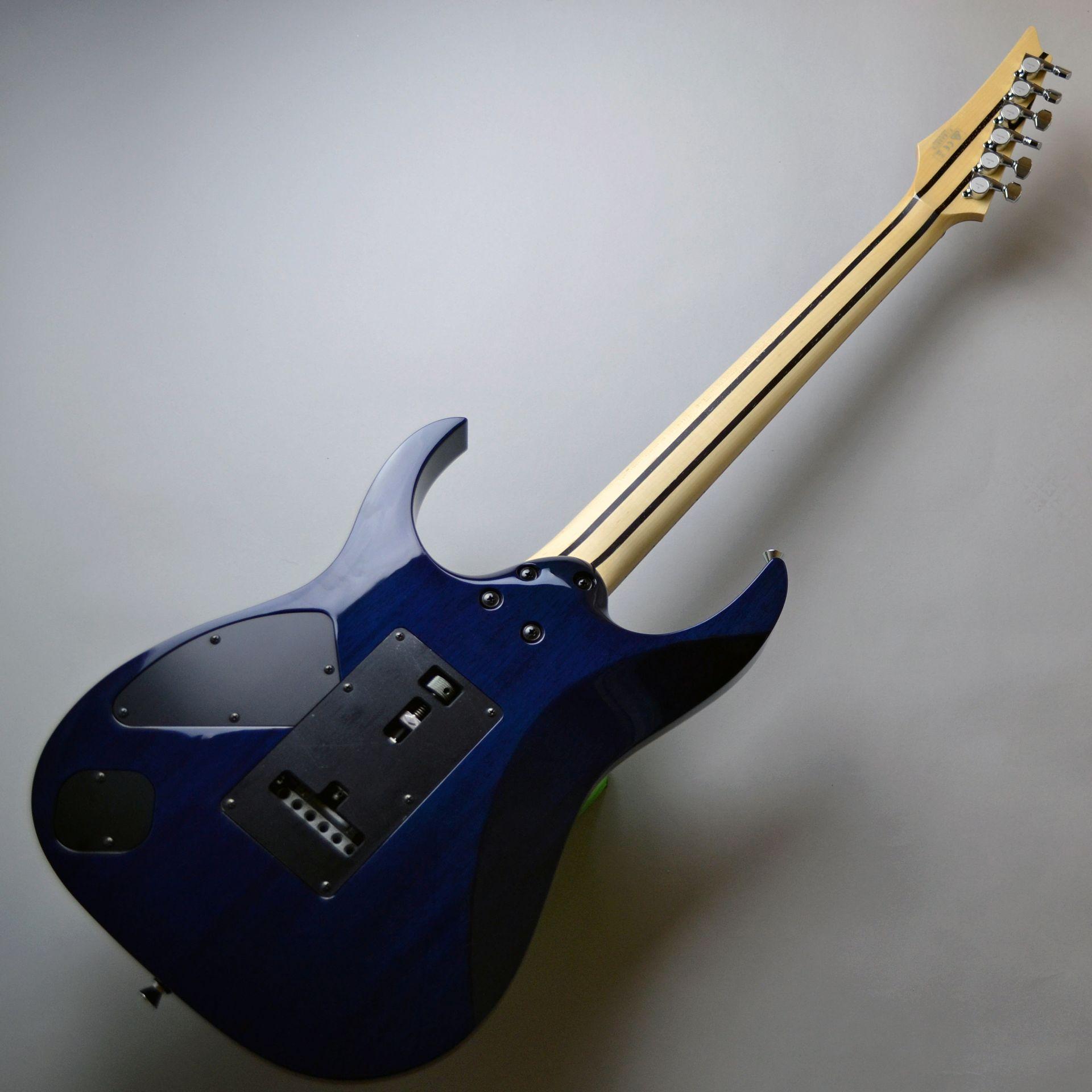 RGV8570-CBB Cerulean Blue Burst【島村楽器オリジナル】の全体画像(縦)