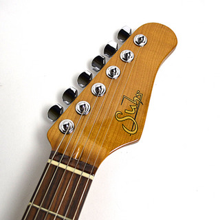 Classic Dakota Red Roasted Maple Neck Indian Rosewoodのヘッド画像