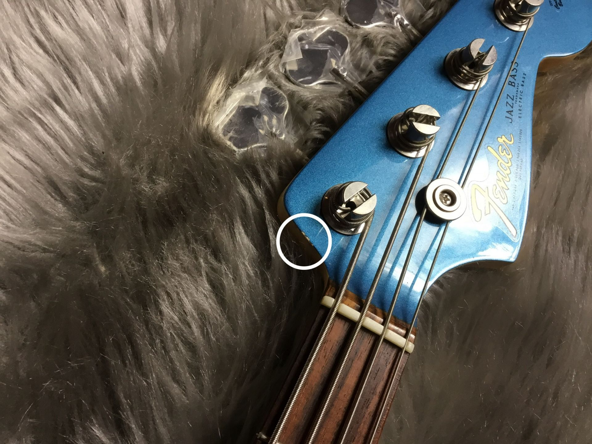 American Vintage '64 Jazz Bassのケース・その他画像