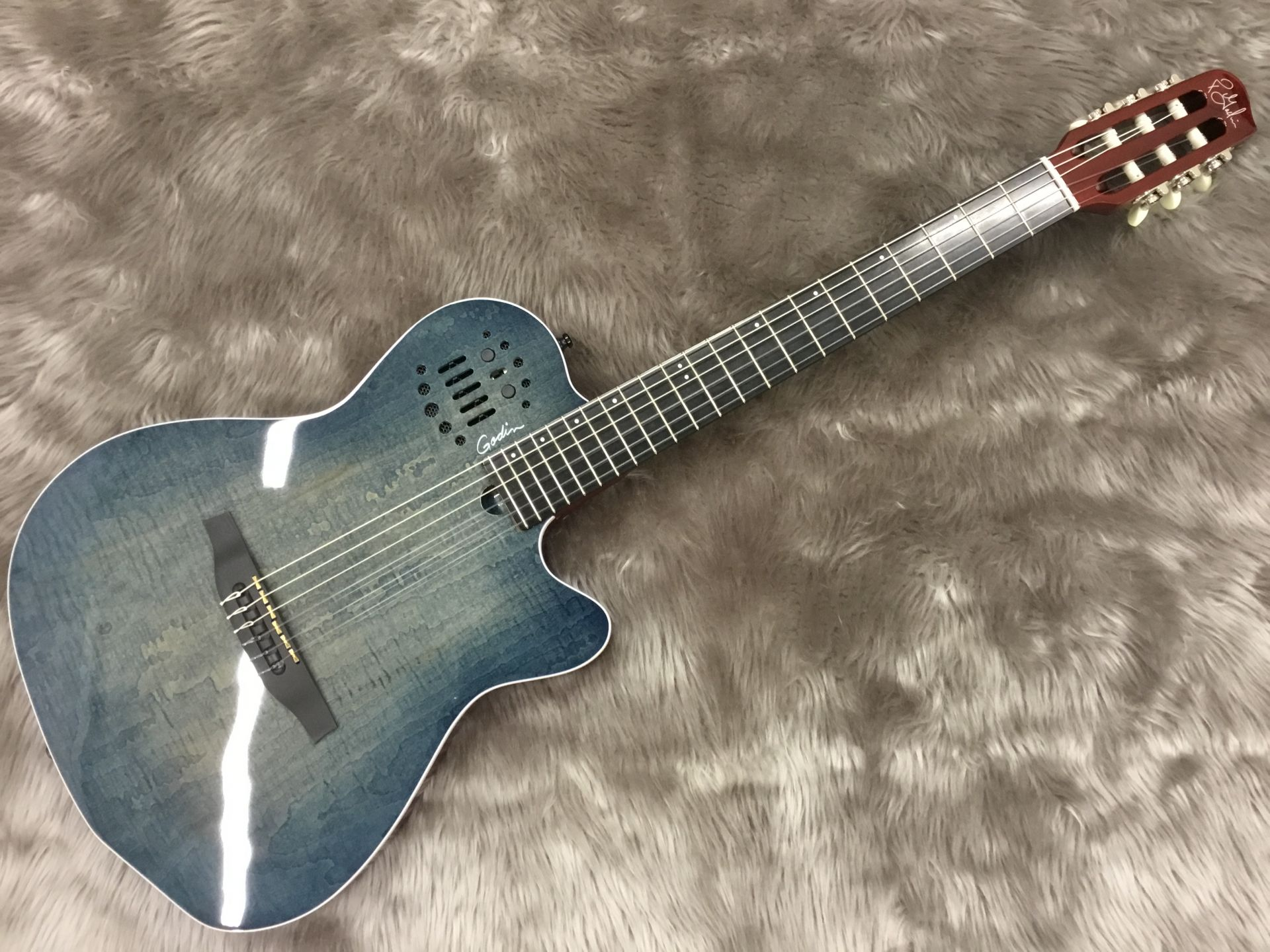 Godin  ACS Denim Blue 写真画像