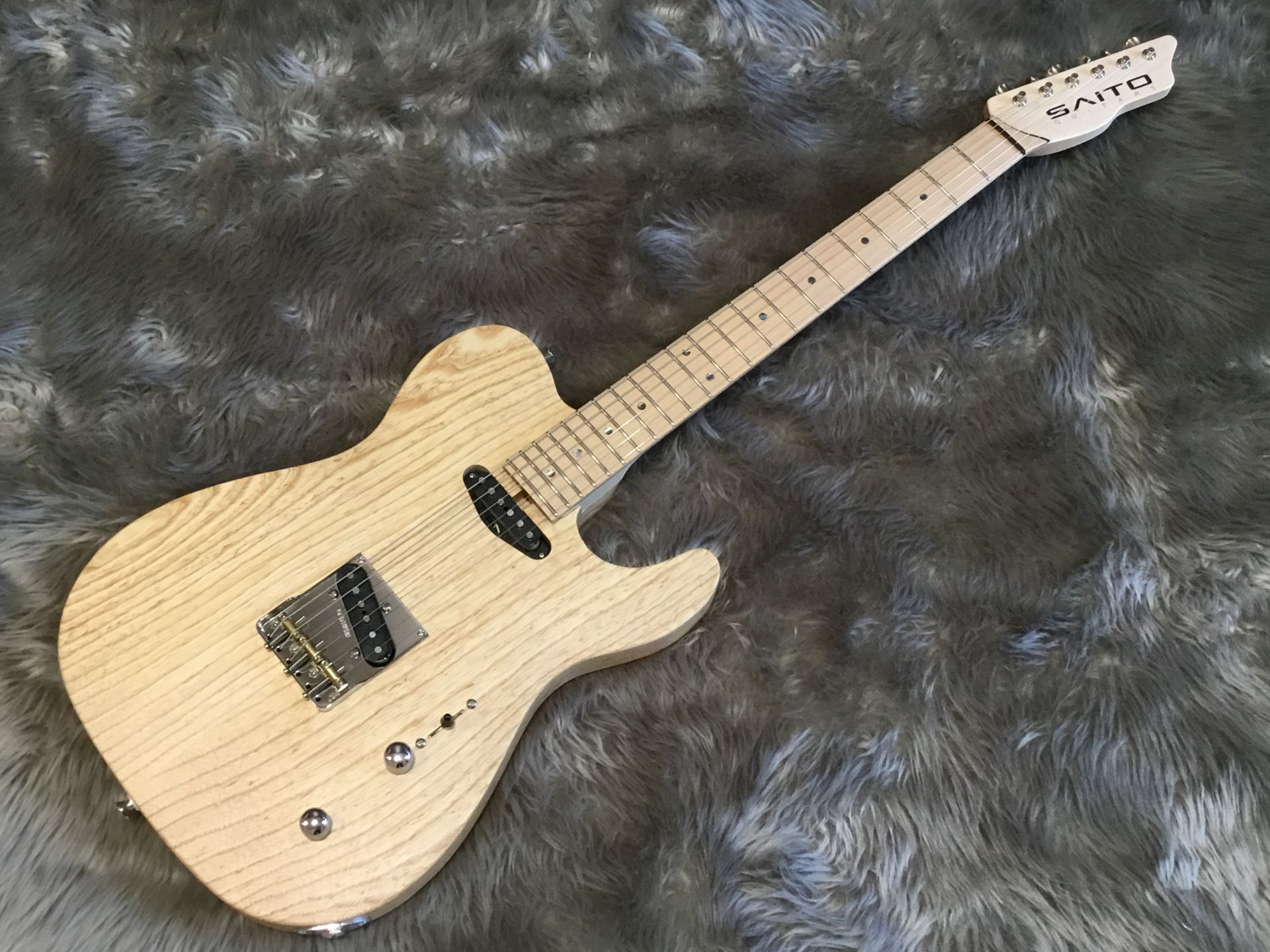 Saito Guitars S-622TLC Ash/Maple 写真画像