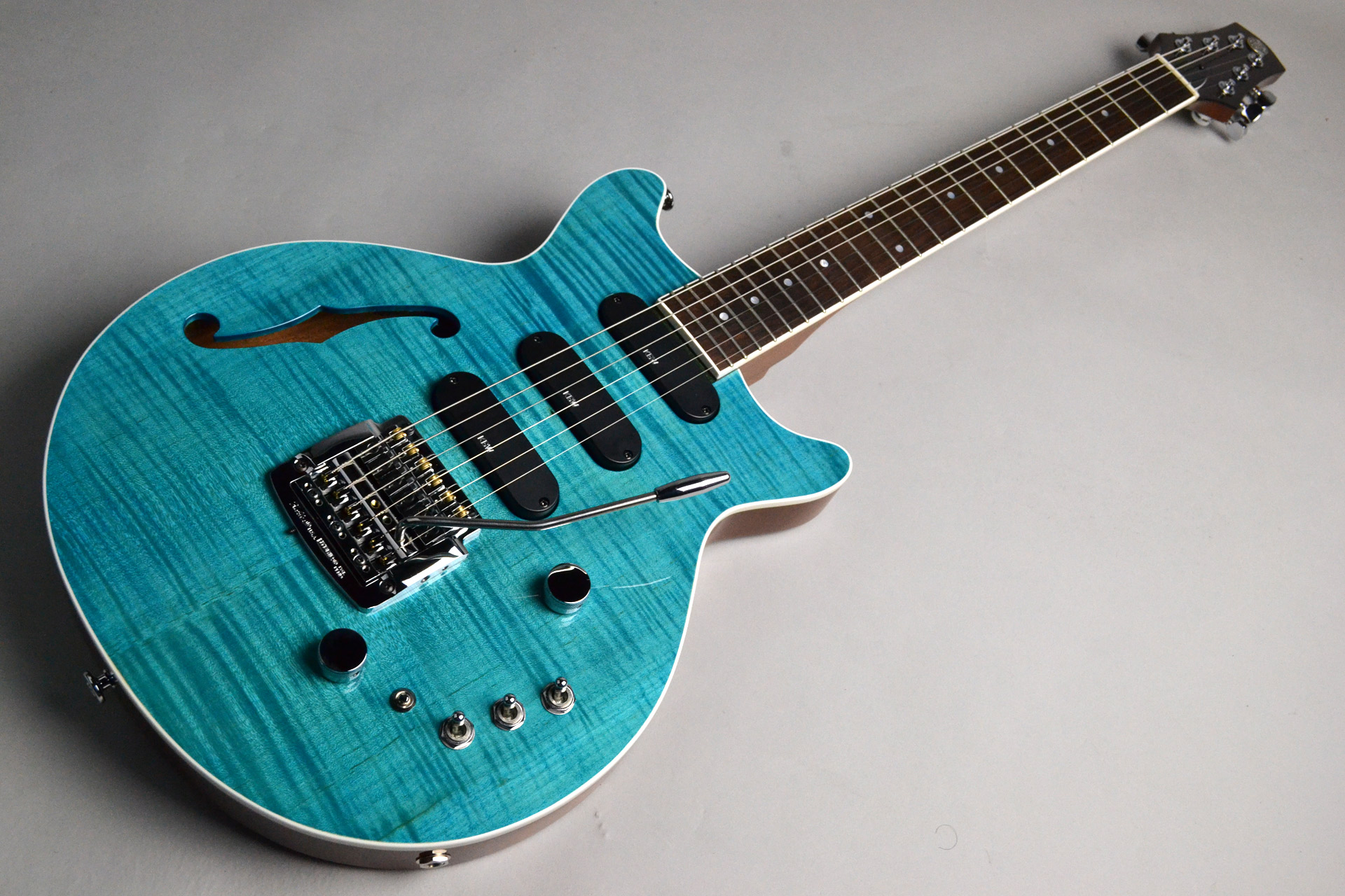 Kz One Semi-Hollow 3S23 Kahler Turquoise Blue【楽器フェアモデル】