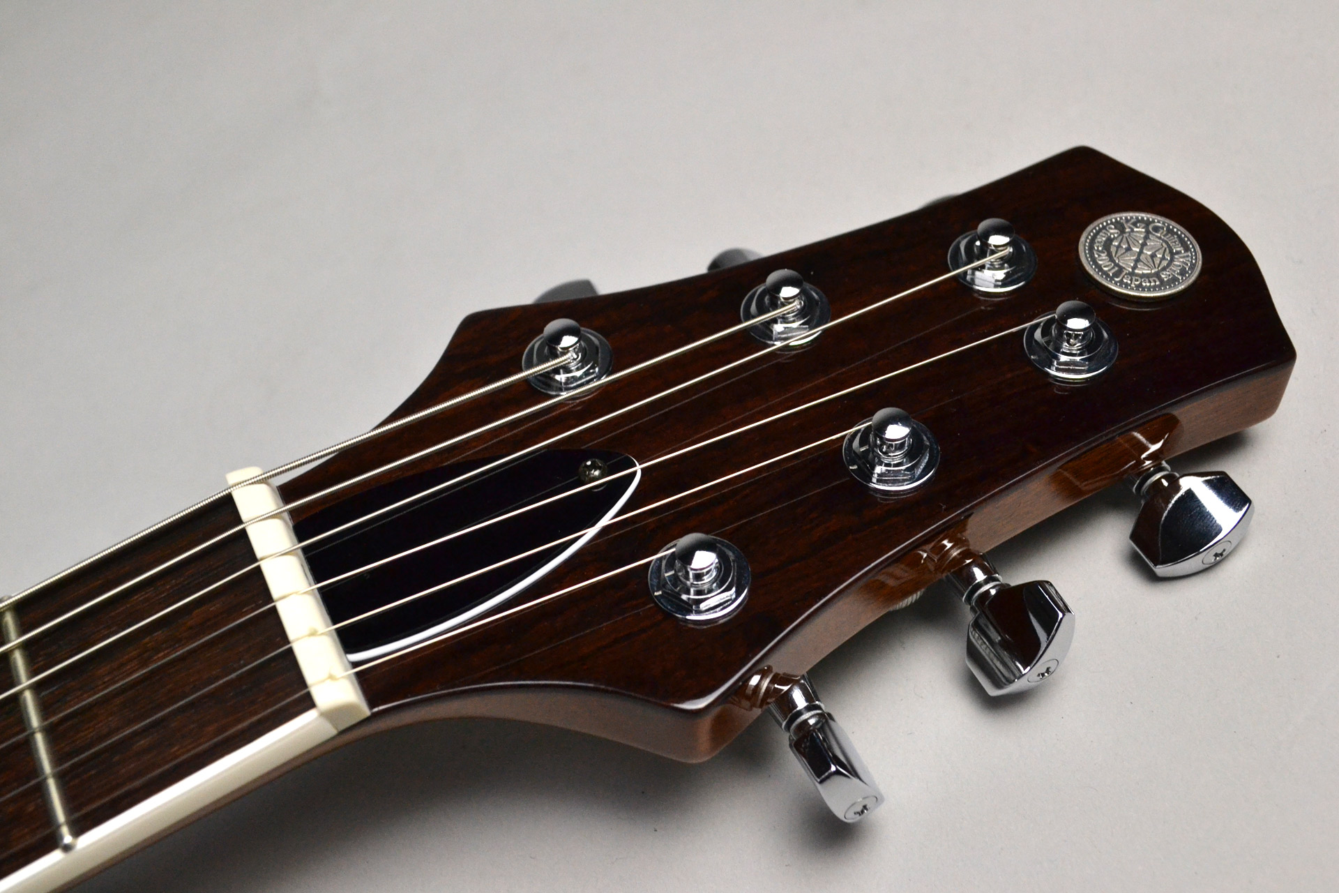 Kz One Semi-Hollow 3S23 Kahler Turquoise Blue【楽器フェアモデル】のヘッド画像