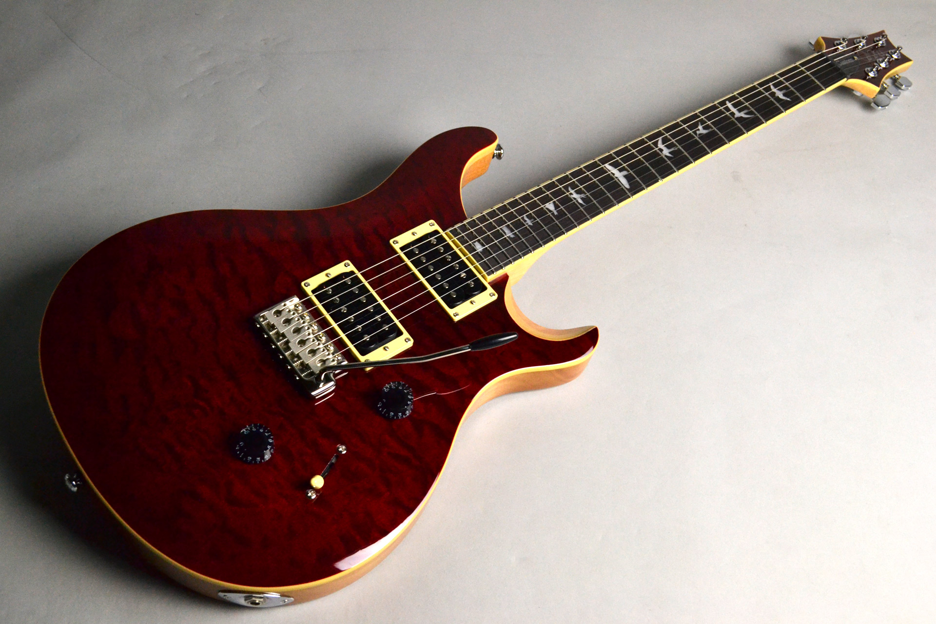 SE Custom 24 QM LTD Black Cherry【島村楽器モデル】