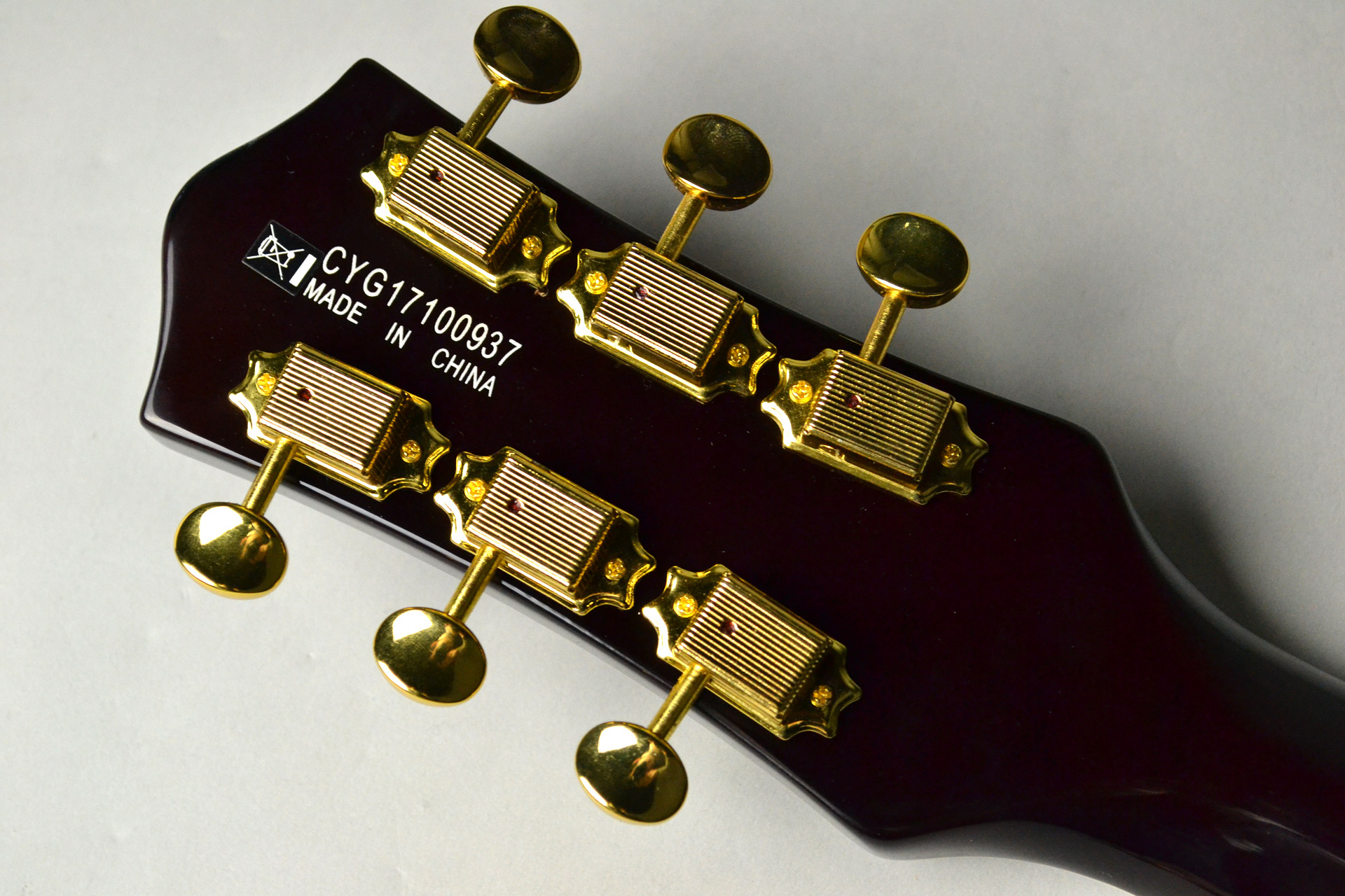 G5435TG Limited Edition Pro Jet™ with Bigsby® Cadillac Greenのヘッド裏-アップ画像