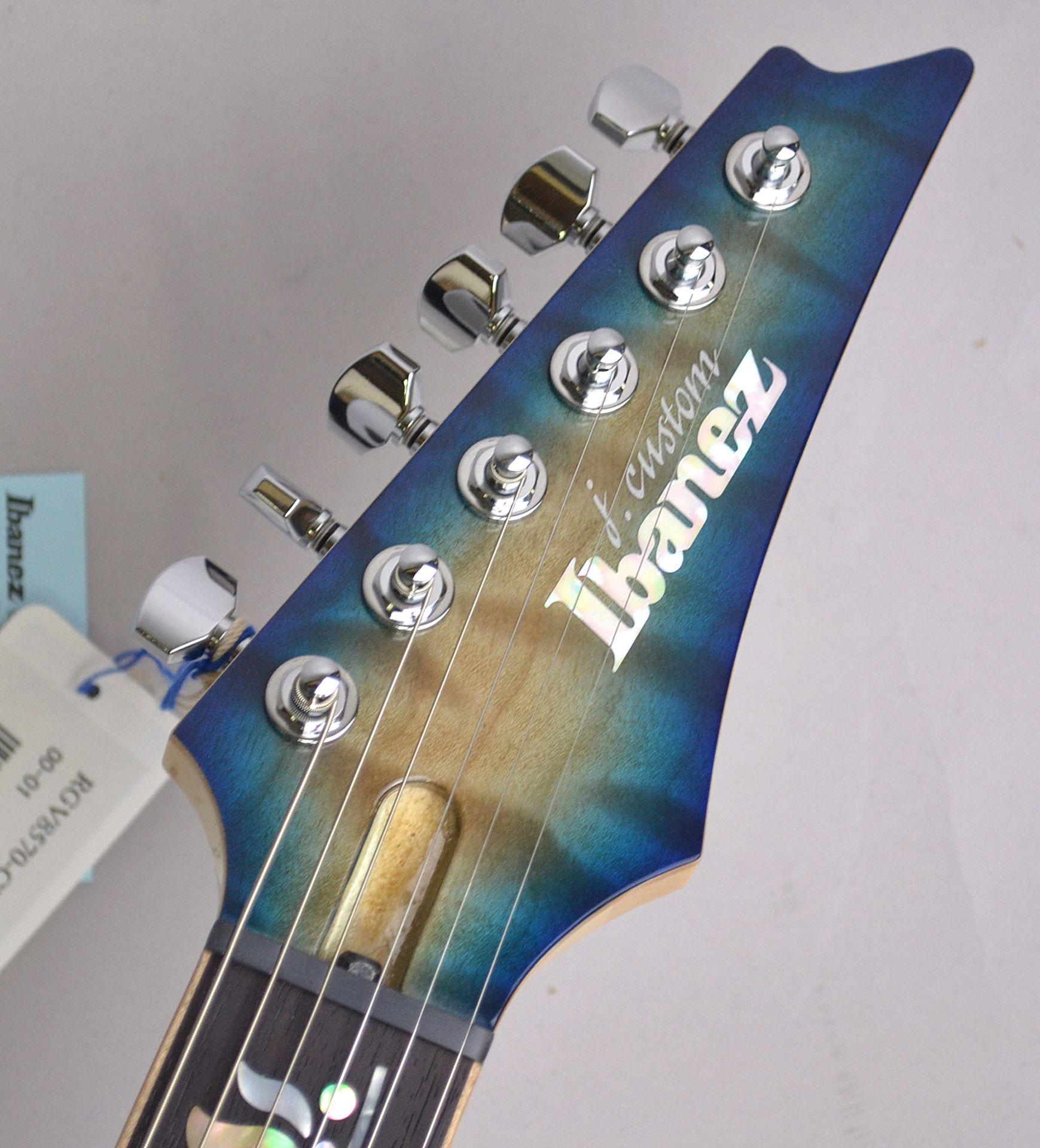 RGV8570-CBB Cerulean Blue Burst 特注J-Customのヘッド画像