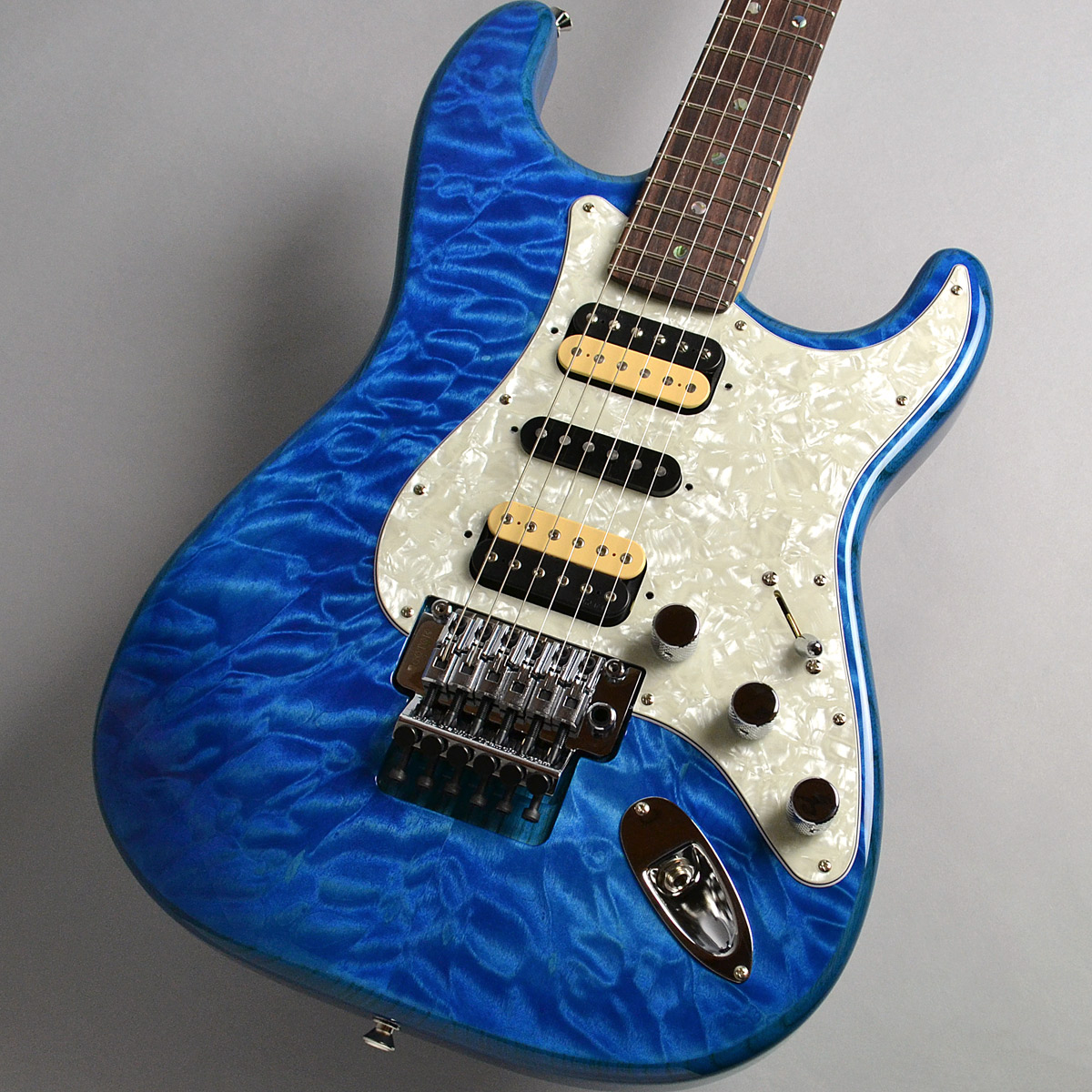 Michiya Haruhata Stratocaster Rosewood Fingerboardのボディトップ-アップ画像