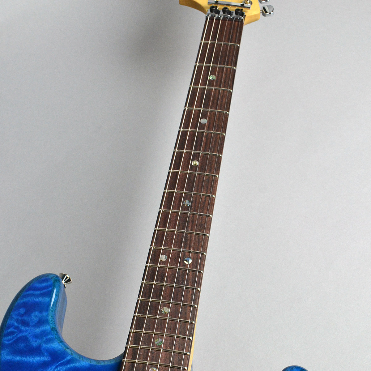 Michiya Haruhata Stratocaster Rosewood Fingerboardの指板画像