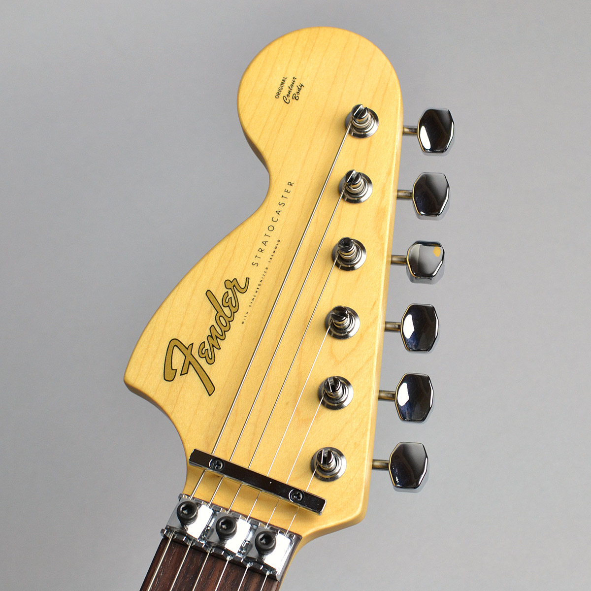 Michiya Haruhata Stratocaster Rosewood Fingerboardのヘッド画像