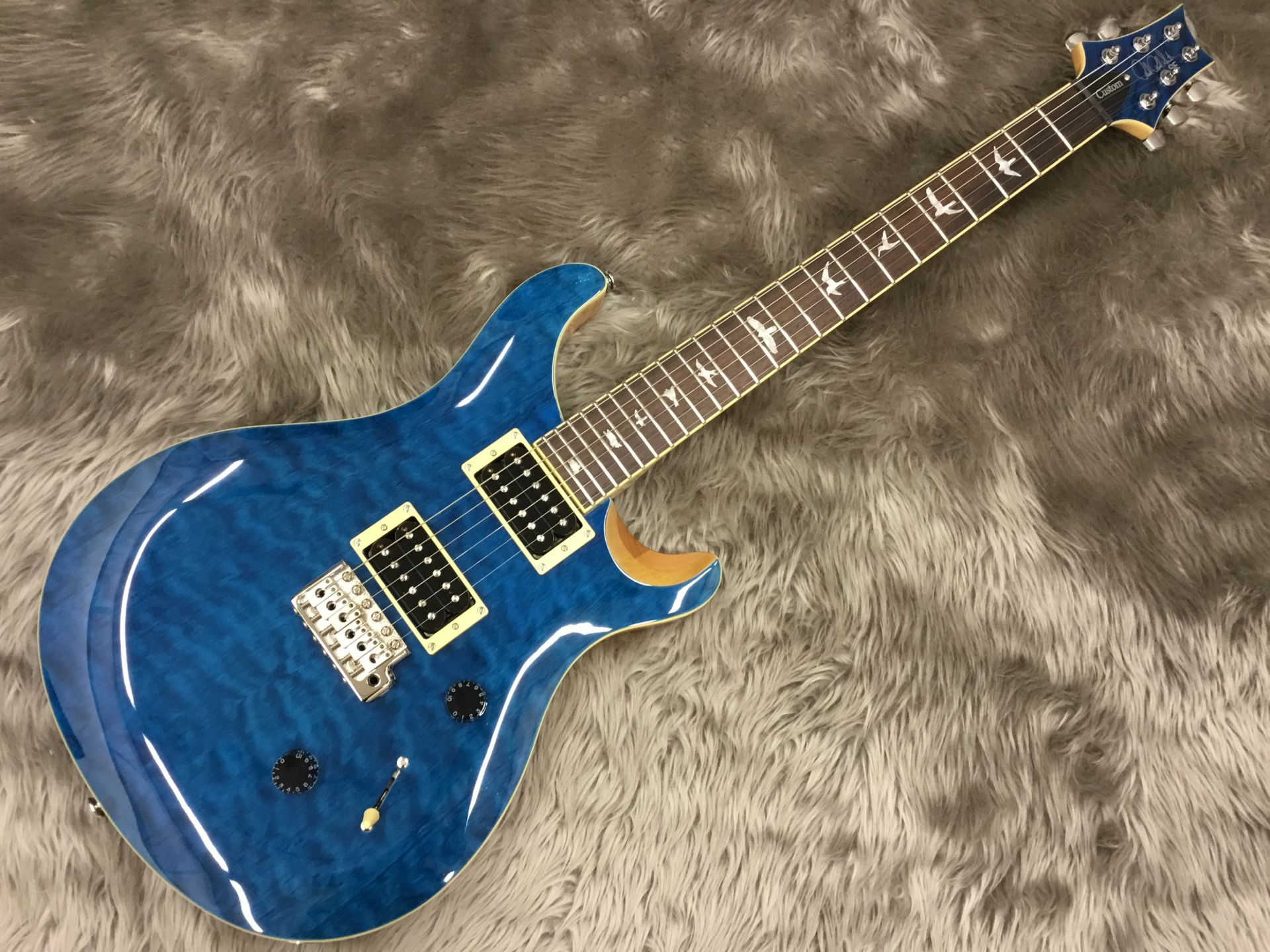Paul Reed Smith(PRS)  SE CUSTOM 24 QM LTD Blue ... 写真画像