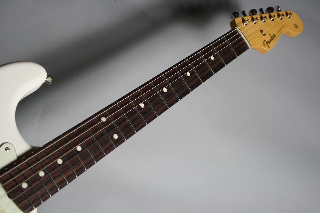 Made in Japan Hybrid 60s Stratocasterの指板画像