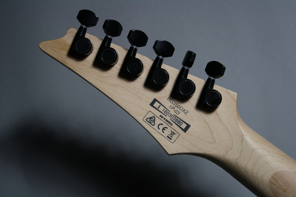 RG350DXZのヘッド裏-アップ画像