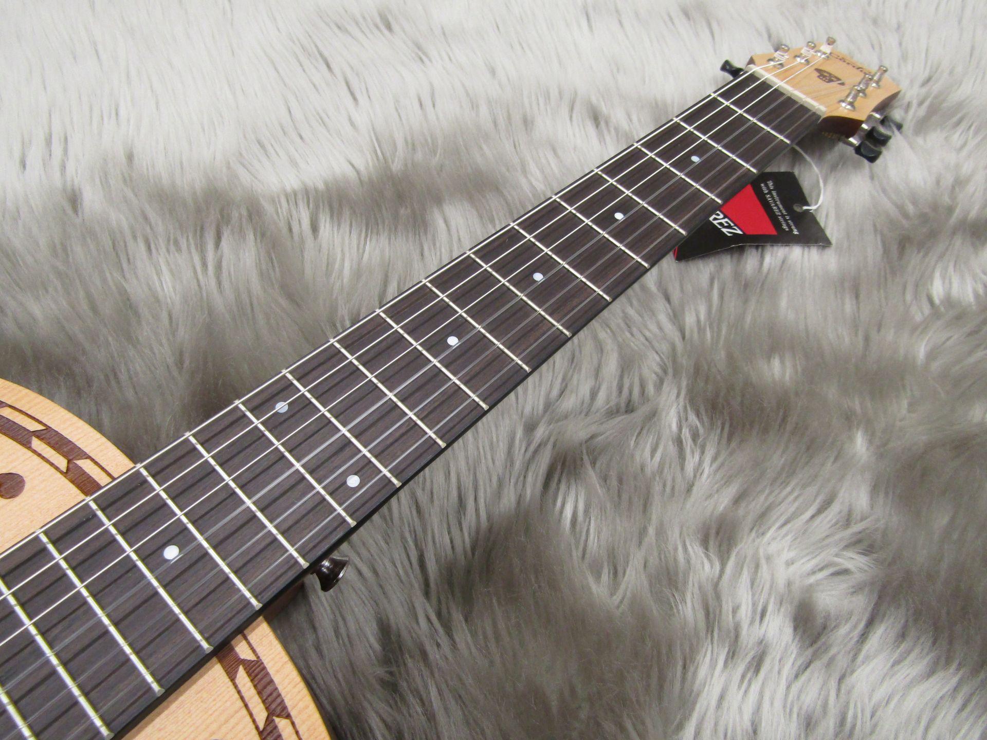 CoCo Guitarの指板画像