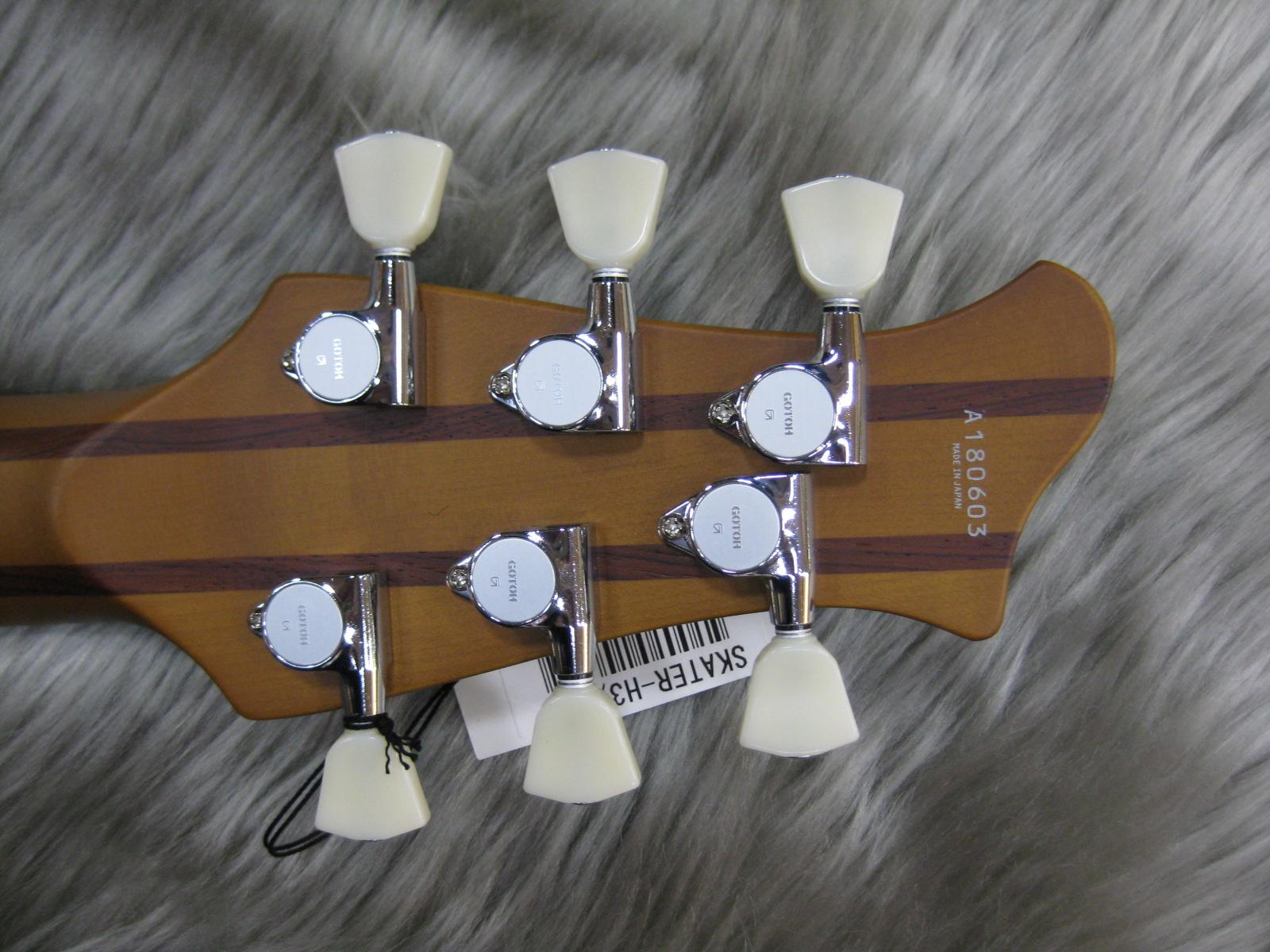 SKATER-H3の指板画像