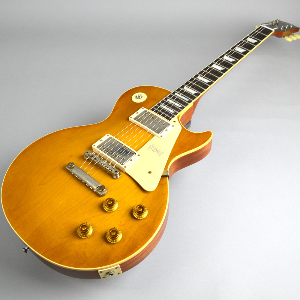 Limited Run 1958 Les Paul Model Hard Rock Maple VOS Dirty Lemonの指板画像