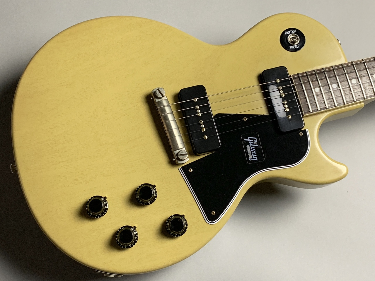 1960 Les Paul Special SC VOS TVYのボディトップ-アップ画像