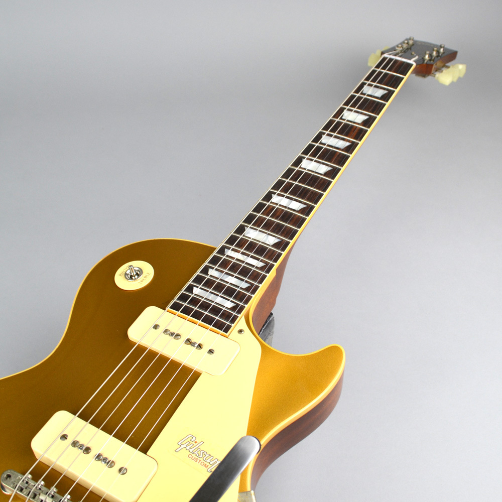 1956 LES PAUL REISSUE HRM GOLD TOP VOS w/BIGSBYのボディトップ-アップ画像