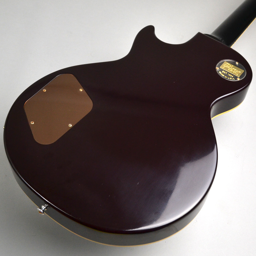 2017 Limited Run 1954 Les Paul 2 Humbuckers Oxblood VOSのヘッド画像