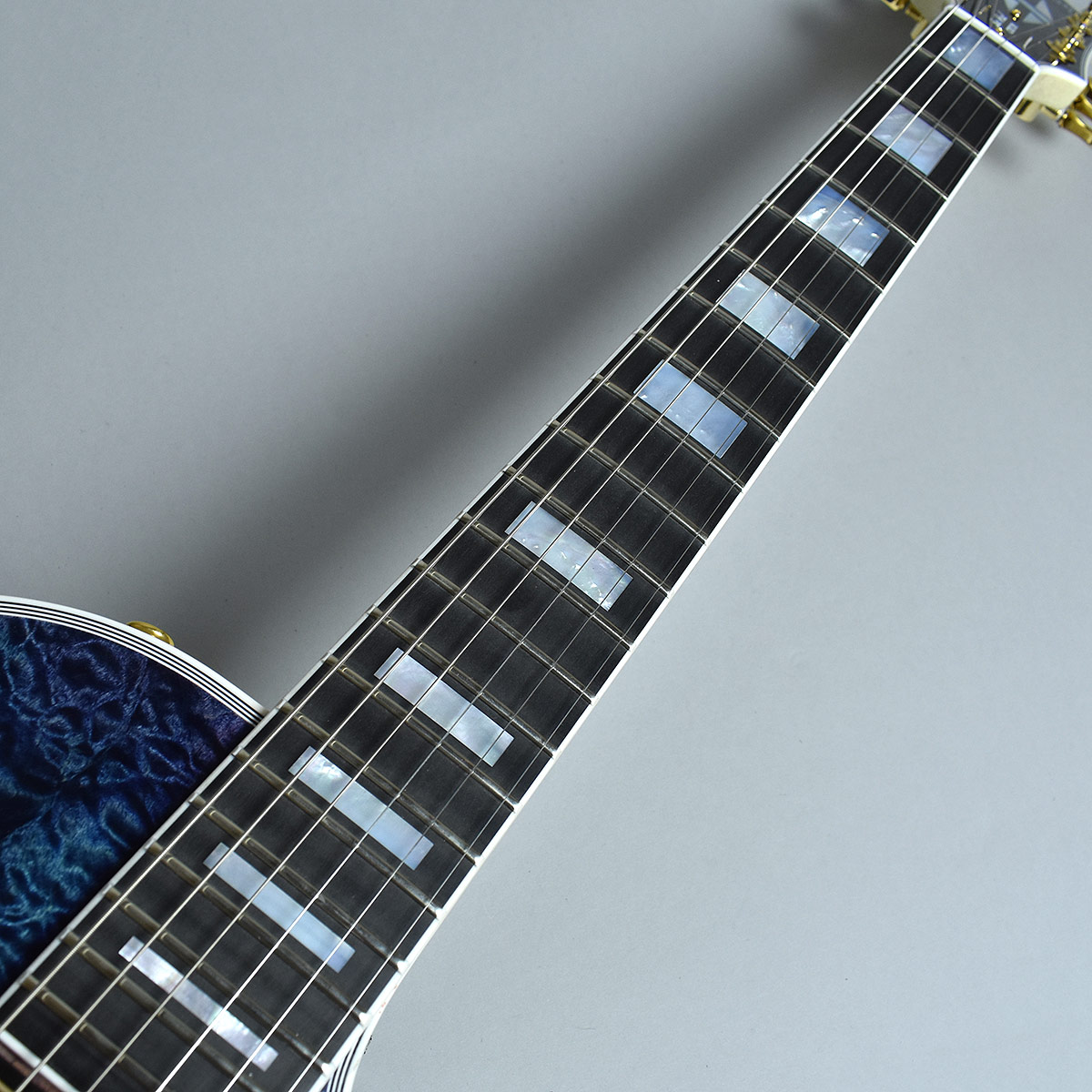 Gibson Custom Shop Hand Picked Limited Les Paul Custom 5A Quiltの指板画像