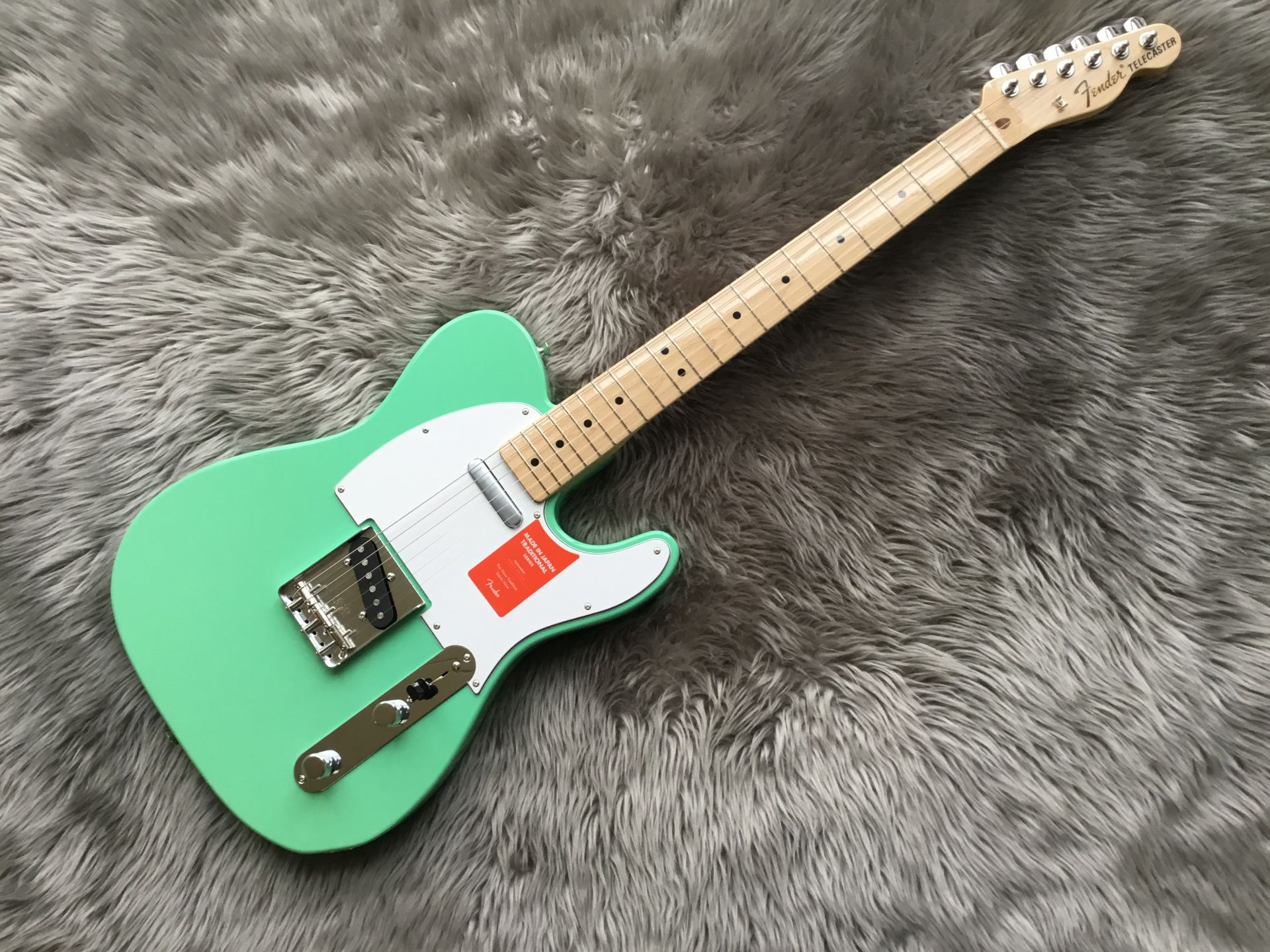 MADE IN JAPAN TRADITIONAL 70S TELECASTER® ASHのボディトップ-アップ画像