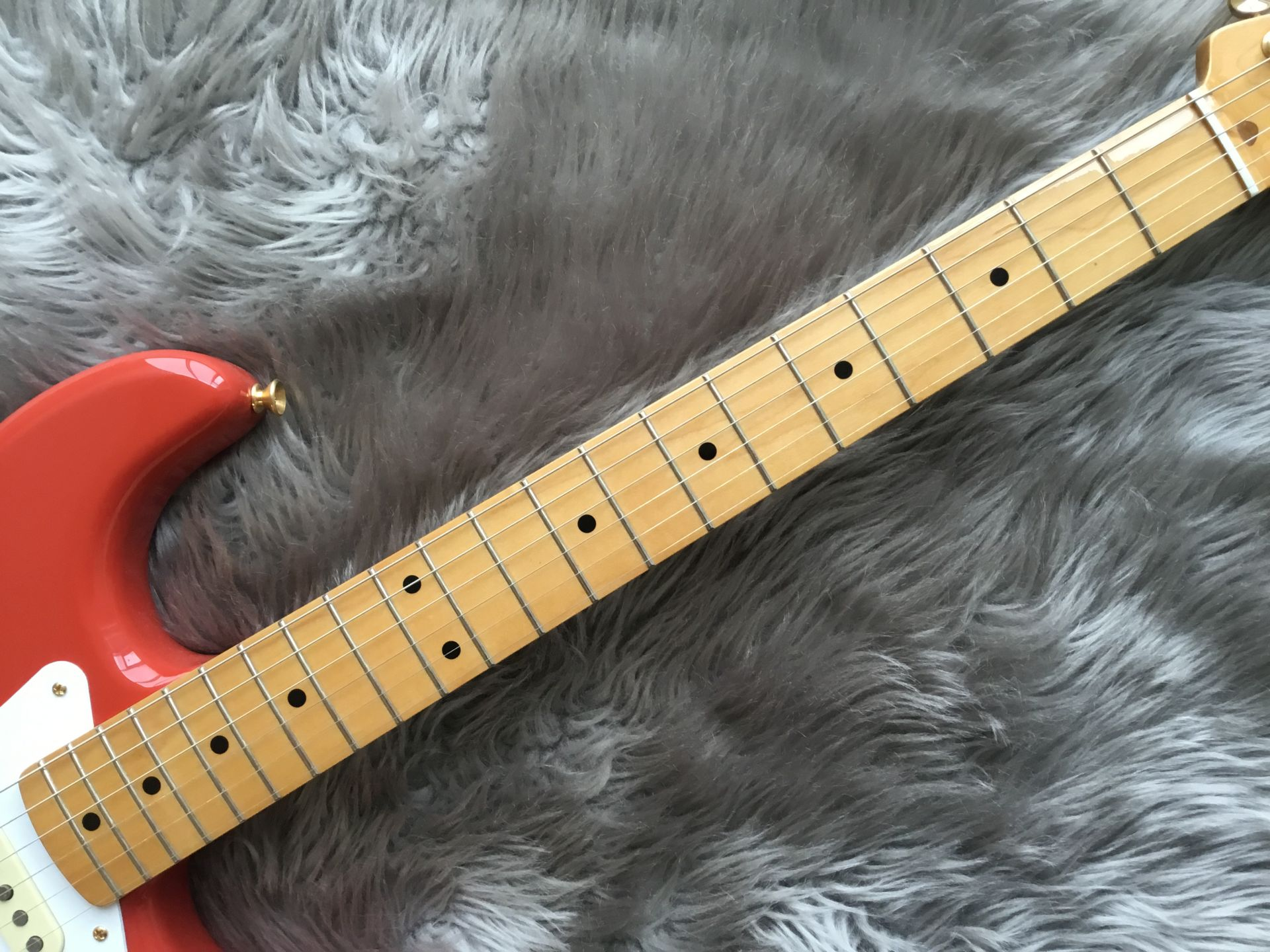 LIMITED EDITION CLASSIC SERIES '50s STRATOCASTER®の指板画像