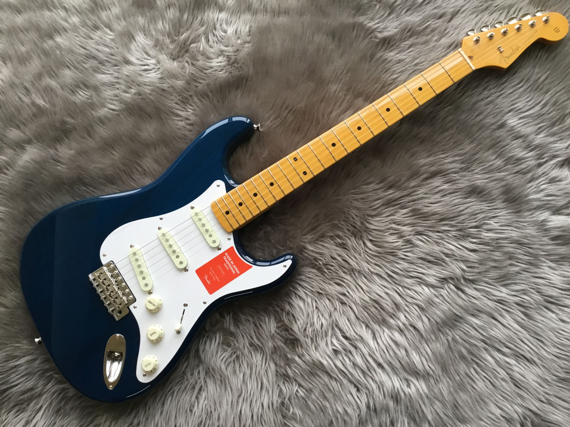 Fender Made in Japan Traditional 58 Stratocasterのボディトップ-アップ画像