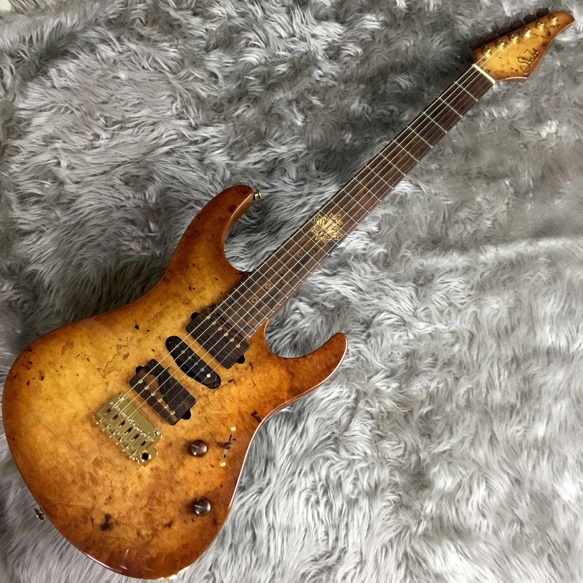 The 2015 Collection Burl Maple Modern Carve Top