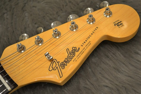 American Original 60s Stratcaster Rosewood Fingerboardのヘッド画像