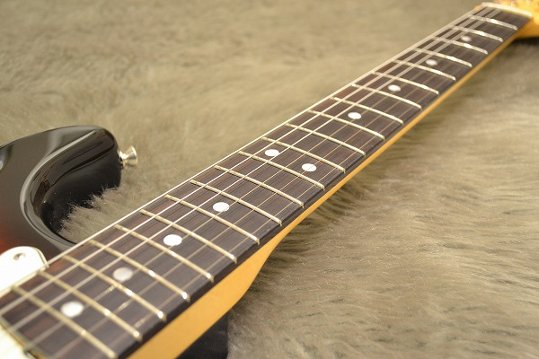 American Original 60s Stratcaster Rosewood Fingerboardの指板画像