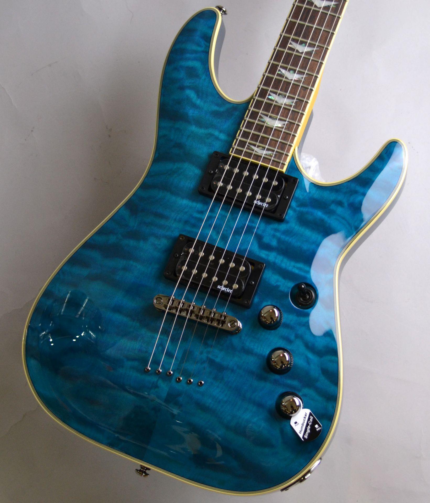 AD-OM6-EXT Trans Ocean Blueのボディトップ-アップ画像