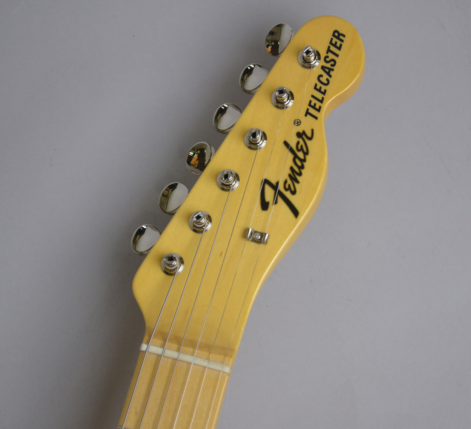 Made in Japan Traditional 69 Telecaster Thinline NAT シンラインのヘッド画像