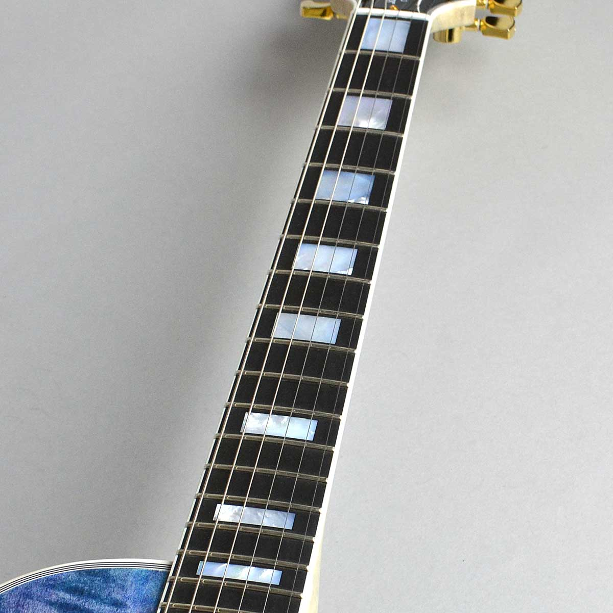 Les Paul Custom Figuredの指板画像