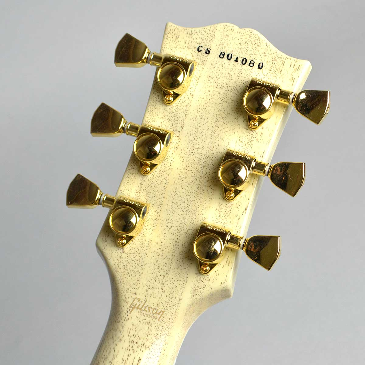 Les Paul Custom Figuredのヘッド裏-アップ画像