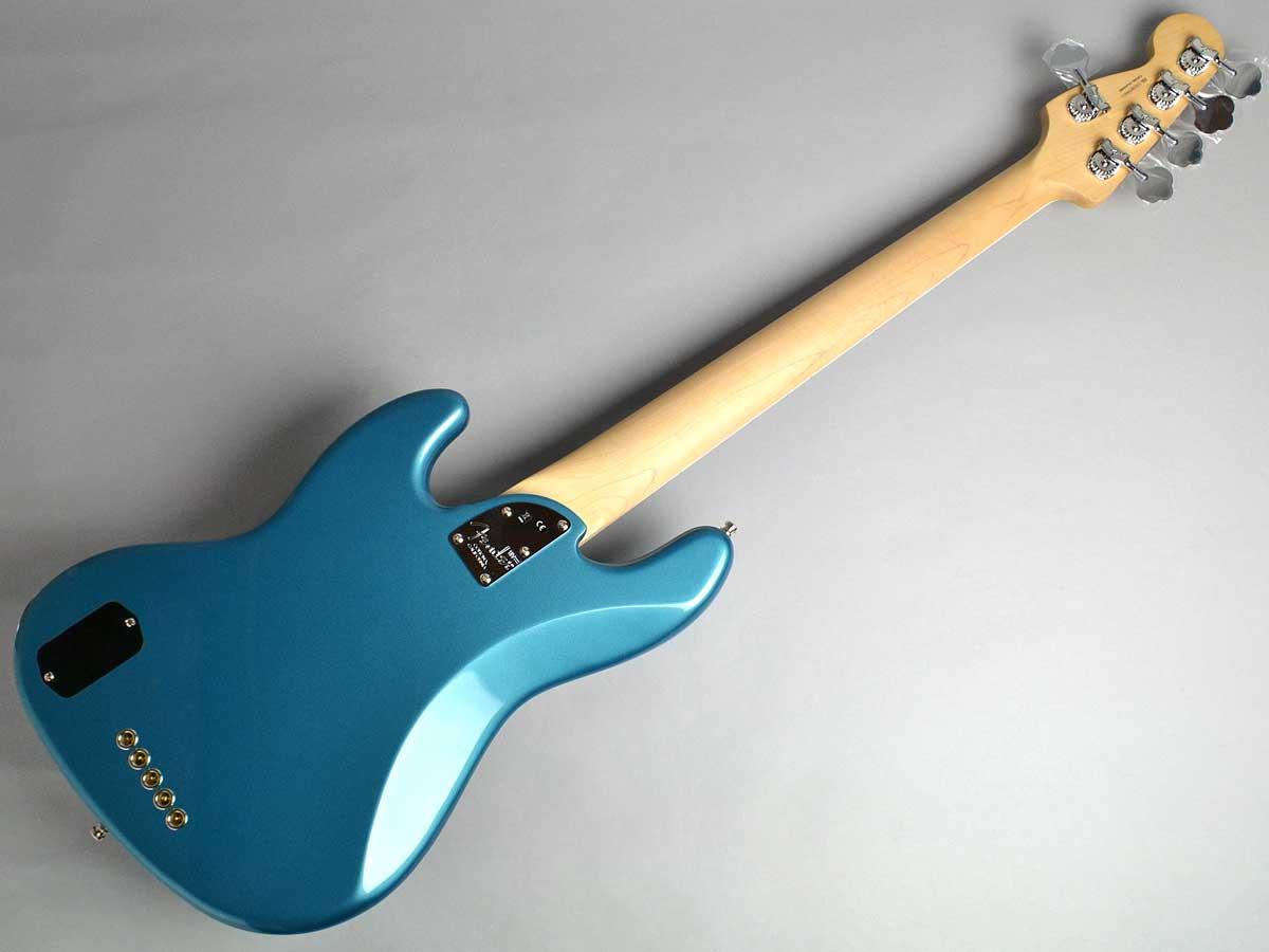 American Elite Jazz Bass Vの全体画像(縦)