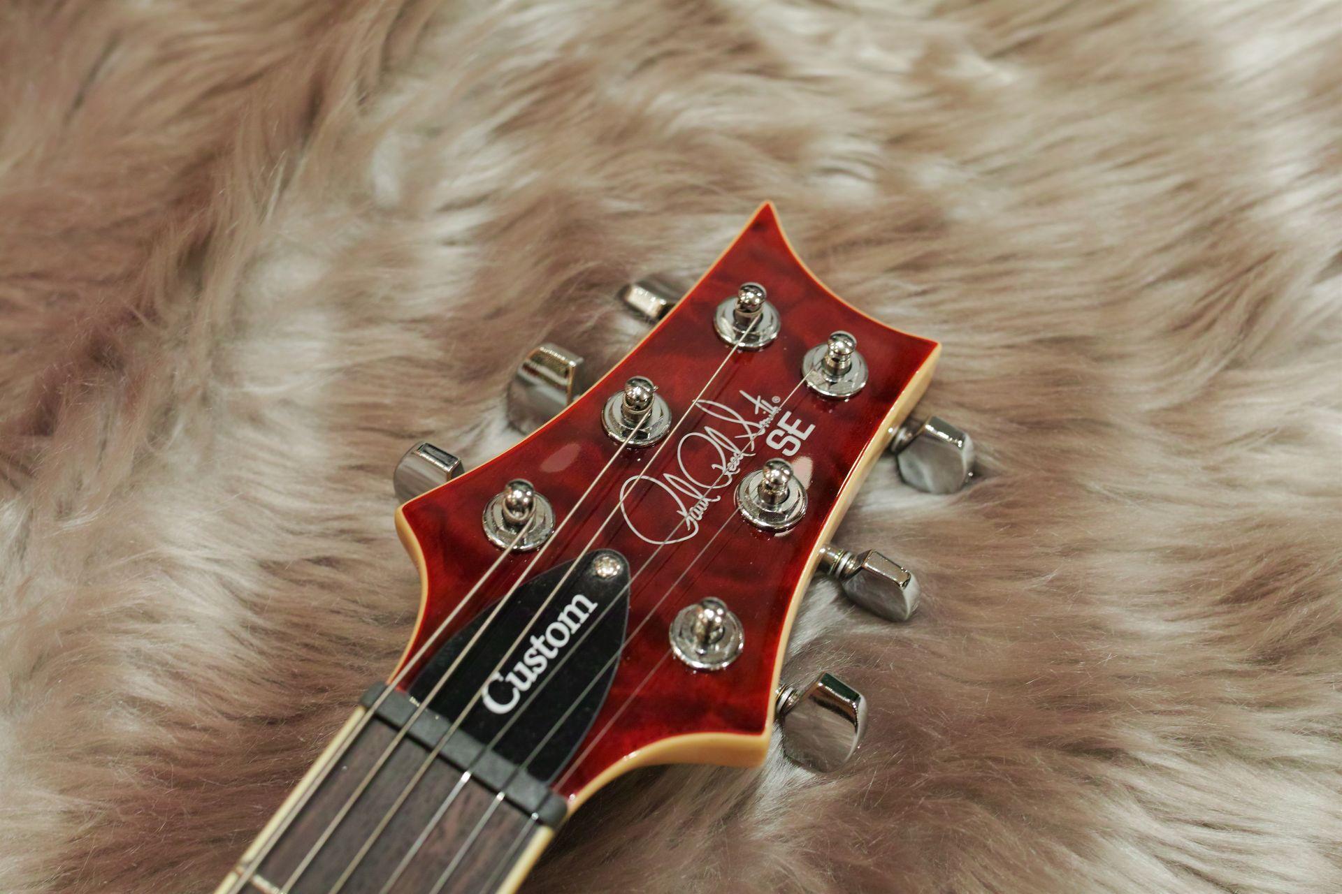 SE Custom 24 QM LTD Black cherry【島村限定モデル!】のヘッド画像
