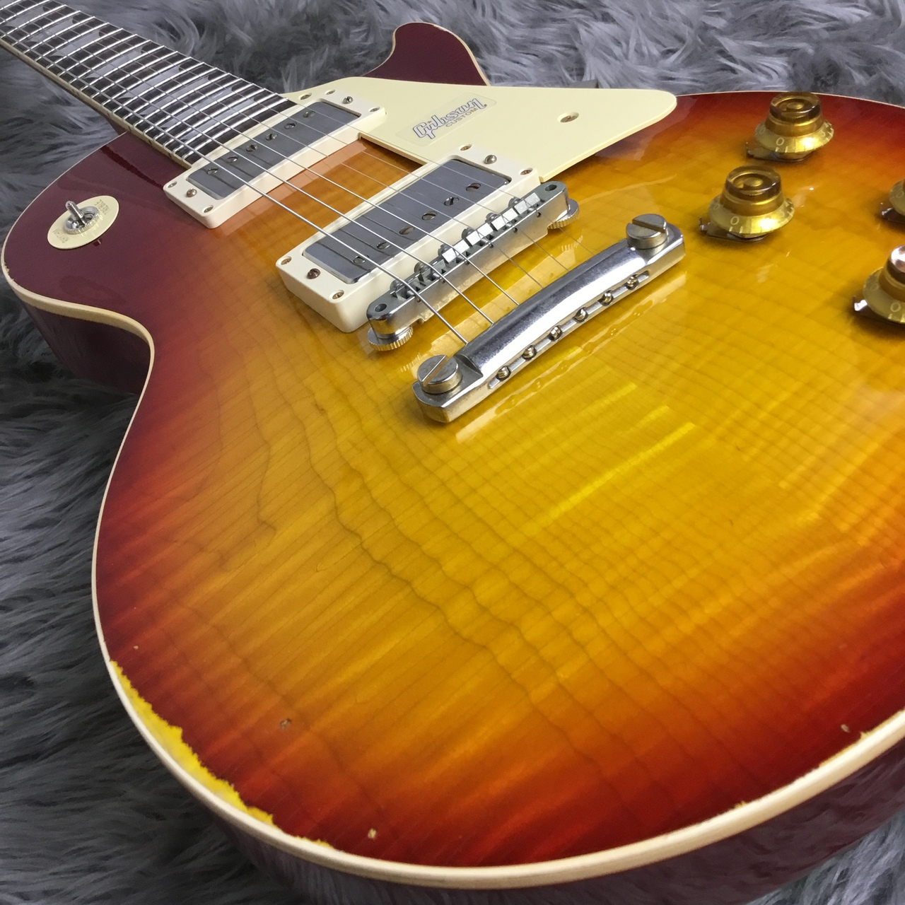 1958 Les Paul Standard Hard Rock Maple Top Crimson Burst Lightly Agedのケース・その他画像