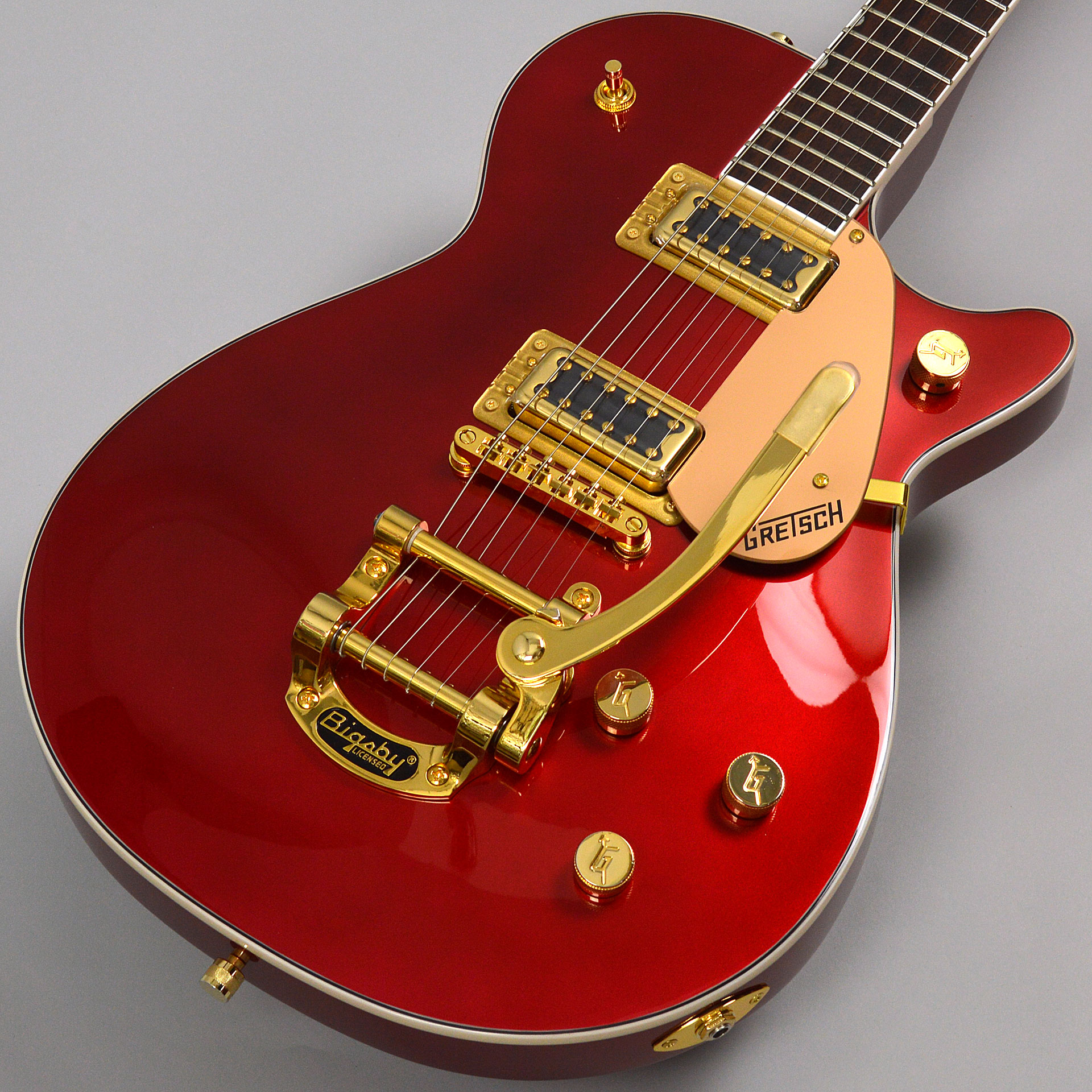 G5435TG Limited Edition Pro Jet with Bigsby Candy Apple Redのボディトップ-アップ画像