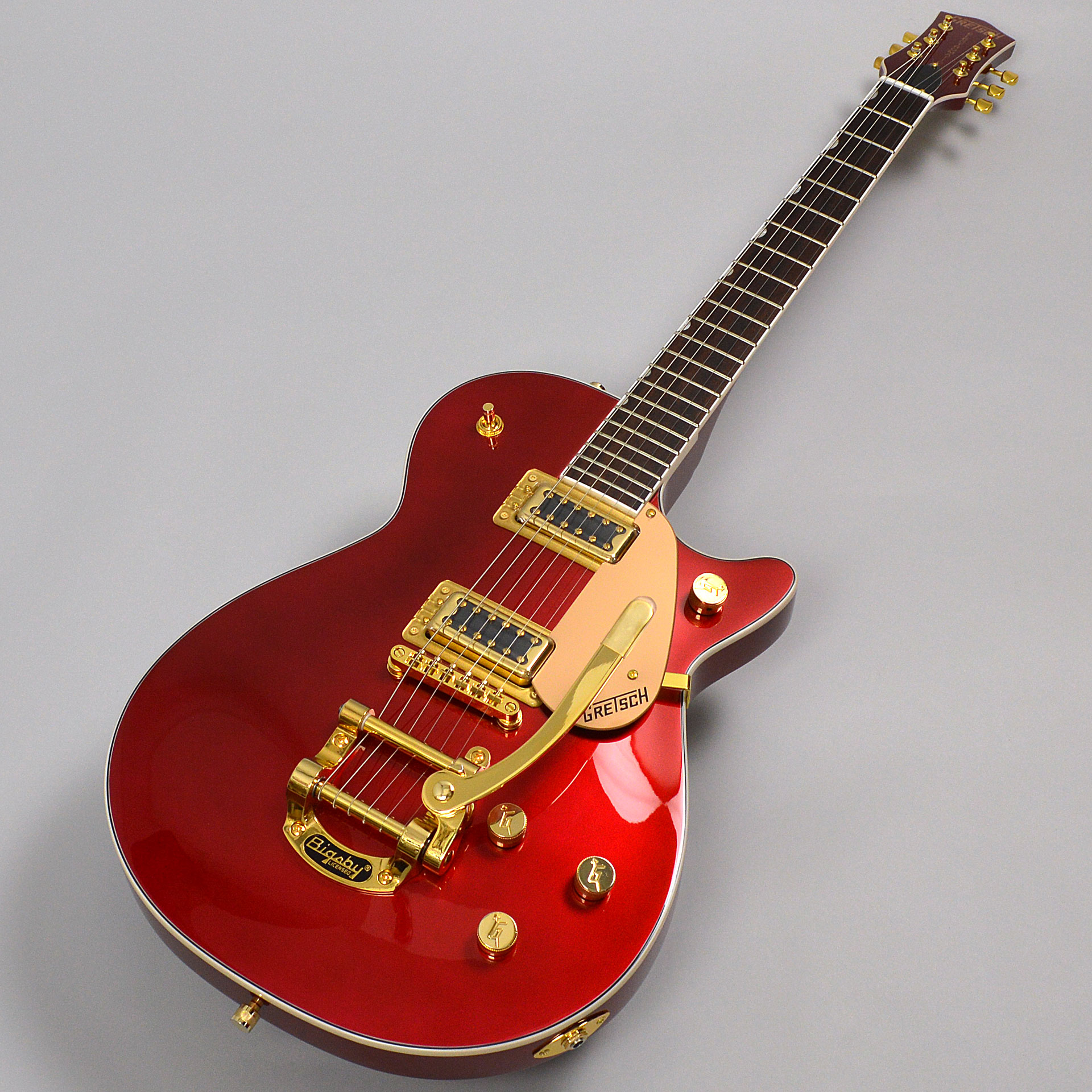 G5435TG Limited Edition Pro Jet with Bigsby Candy Apple Redの全体画像(縦)