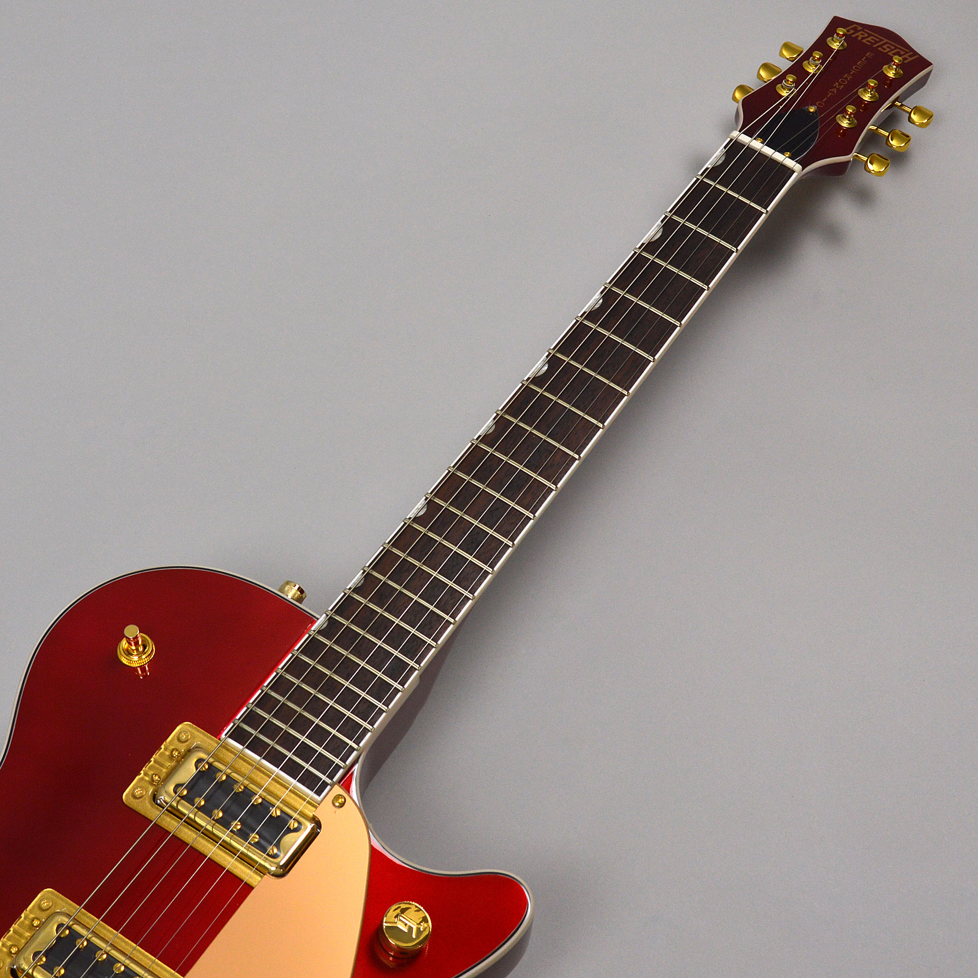 G5435TG Limited Edition Pro Jet with Bigsby Candy Apple Redの指板画像